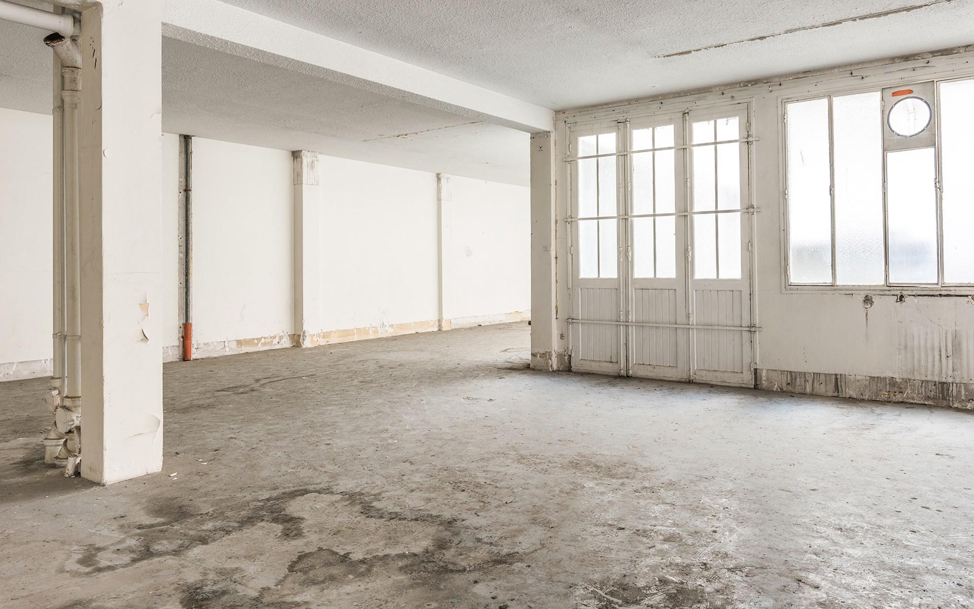 Prise de vue loft industriel à rénover - Paris XIè