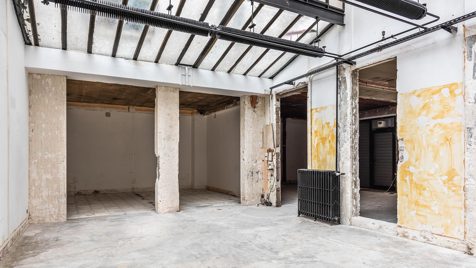 Prise de vue loft industriel à rénover Paris XIV