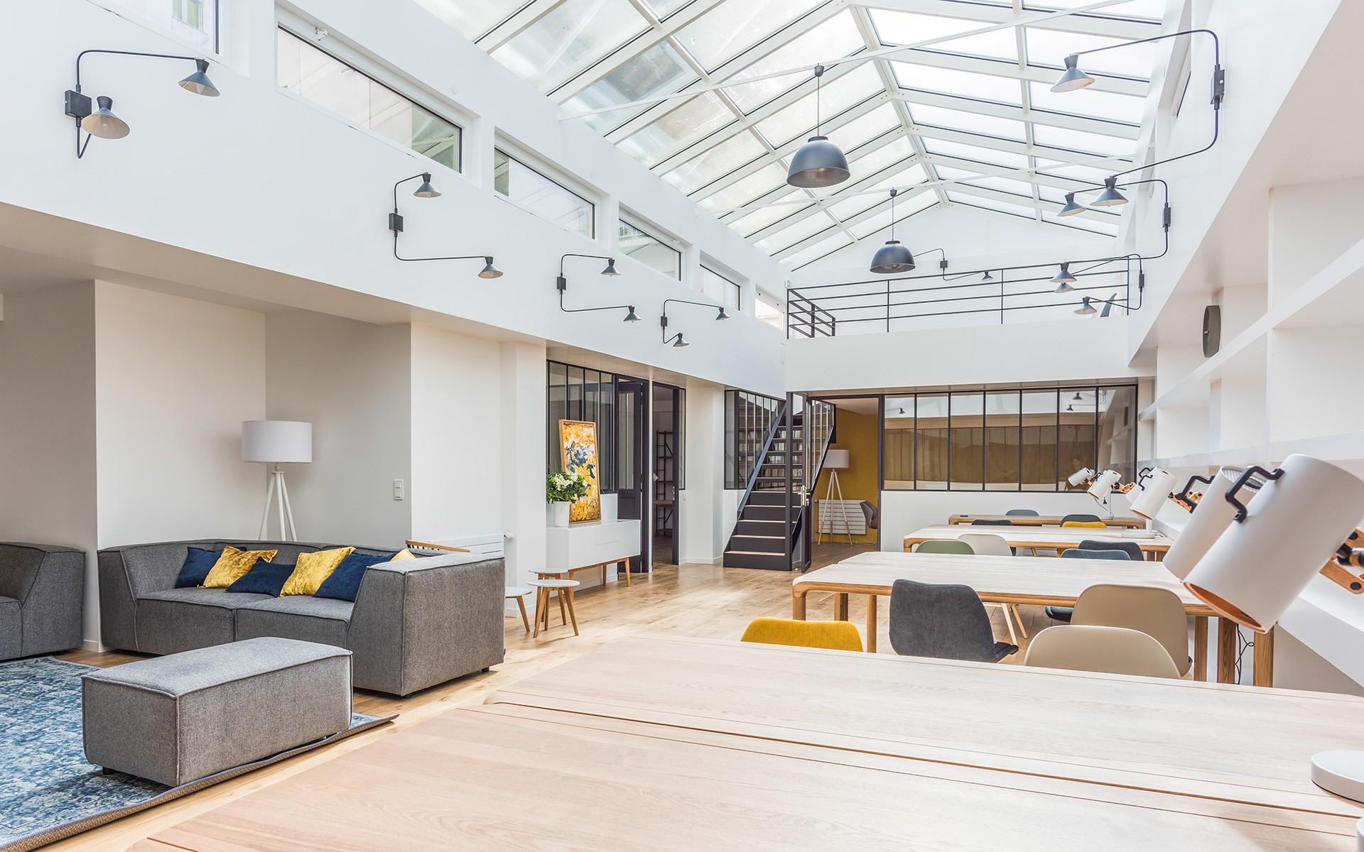 Prise de vue loft architecture industrielle - Paris XIIè