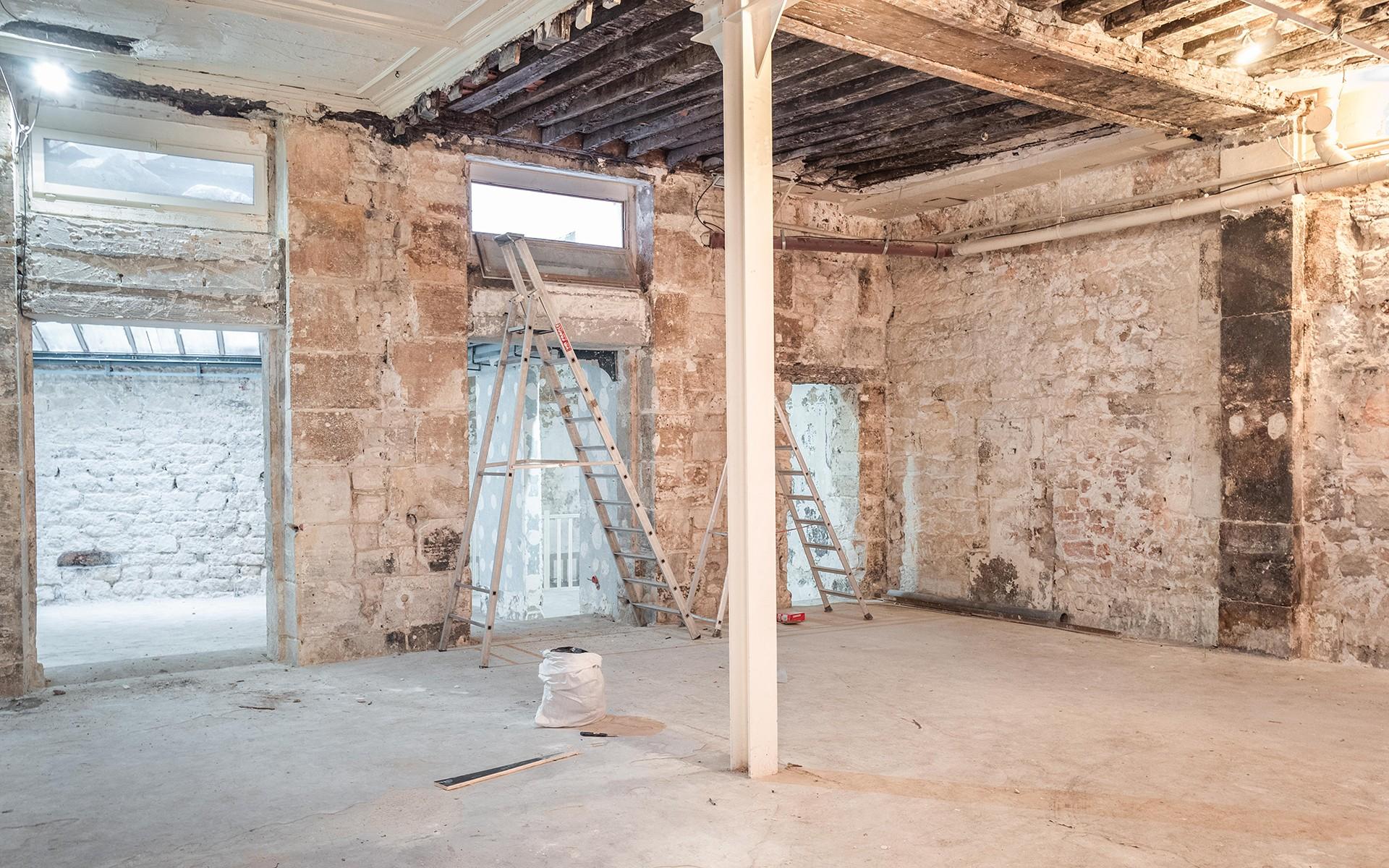 Prise de vue loft industriel à rénover - Paris IIIè Beaubourg